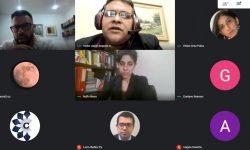 Diversos temas fueron tratados en reunión virtual de la Comisión Sesquicentenario
