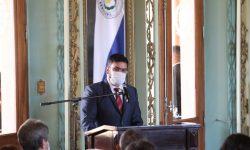 Parque Nacional Vapor Cué: Presidente de la República presidió entrega del título de propiedad a la Armada Paraguaya imagen