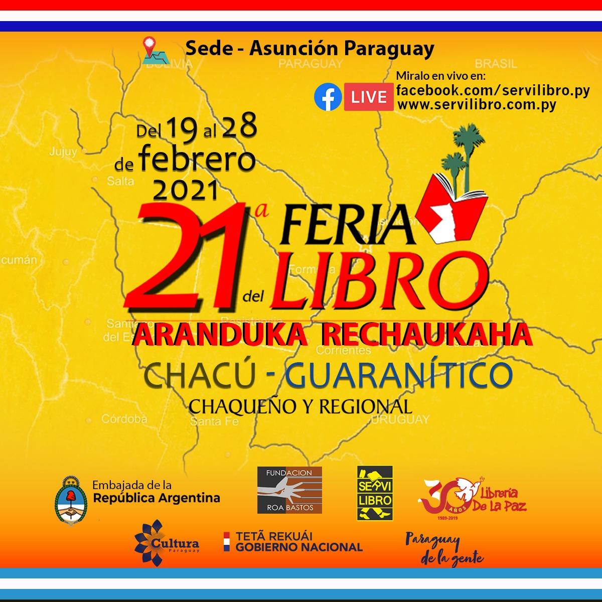 Paraguay participará de 21º Feria del Libro Chaqueño y Regional imagen