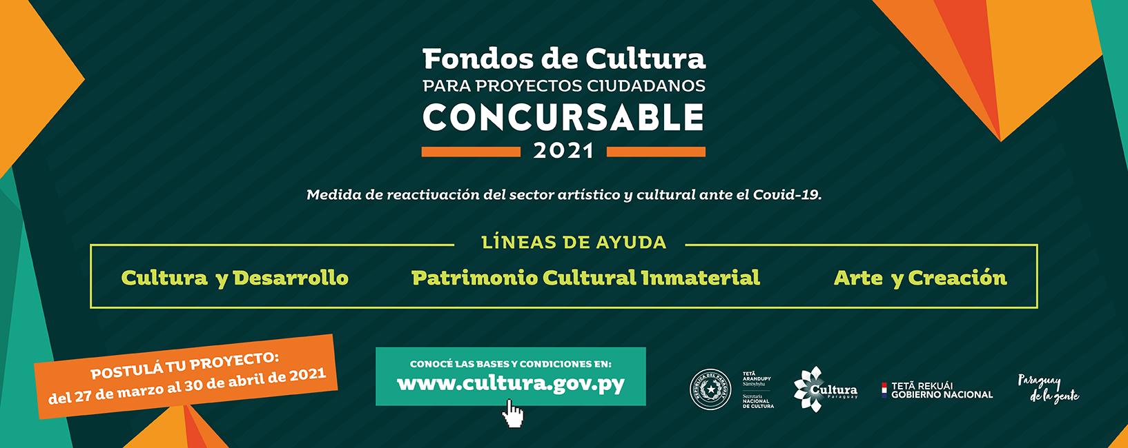 Fondos de Cultura para Proyectos Ciudadanos – Concursable 2021 imagen