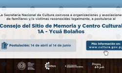 Consejo del Sitio de Memoria y Centro Cultural 1A – Ycuá Bolaños imagen