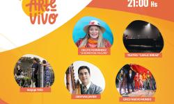 Festival Virtual #ArteVivoVeranoCultural grilla sábado 03 y domingo 04 de abril imagen
