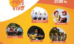 Festival Virtual #ArteVivoVeranoCultural grilla sábado 10 y domingo 11 de abril imagen