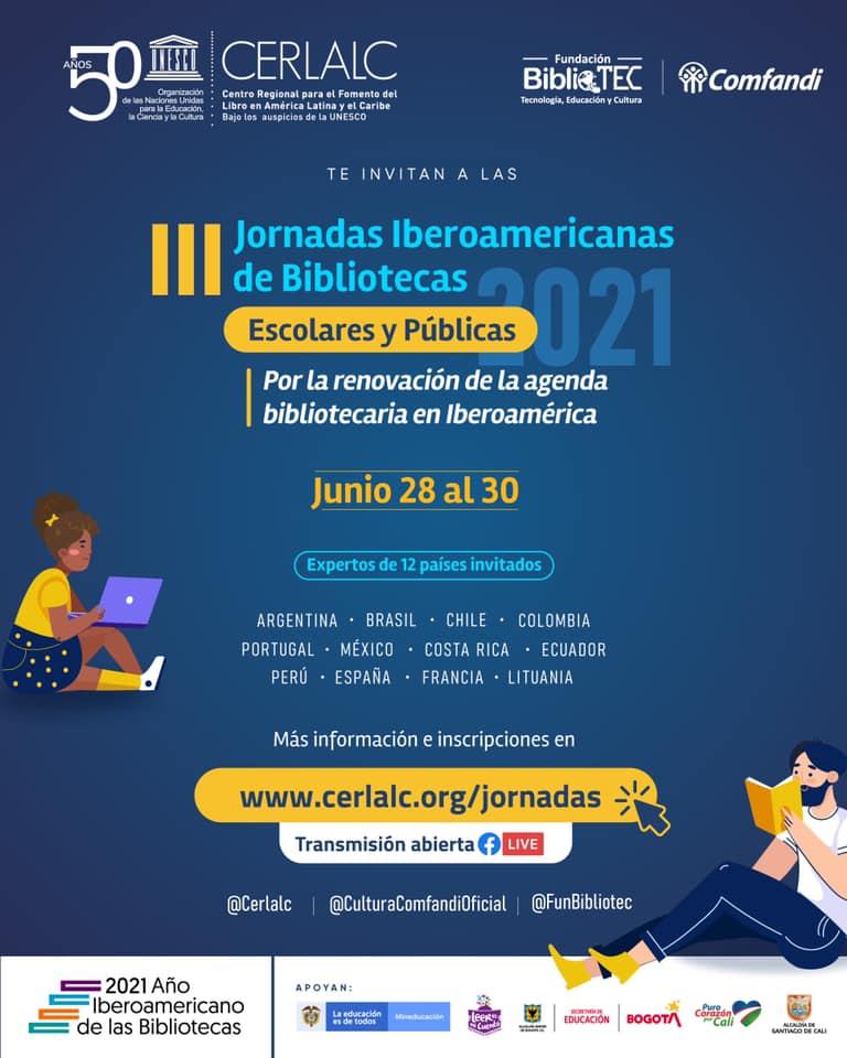 Paraguay participará de las III Jornadas Iberoamericanas por las Bibliotecas Escolares y Públicas imagen