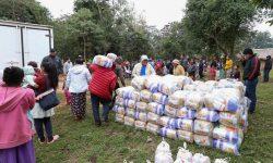 Cultura entregó donaciones a comunidad indígena Ava Guaraní