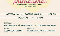 Feria de espacios culturales en el centro de Asunción este domingo