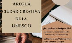 Taller sobre «Areguá ciudad Creativa de la UNESCO» se desarrollará el 28 de setiembre
