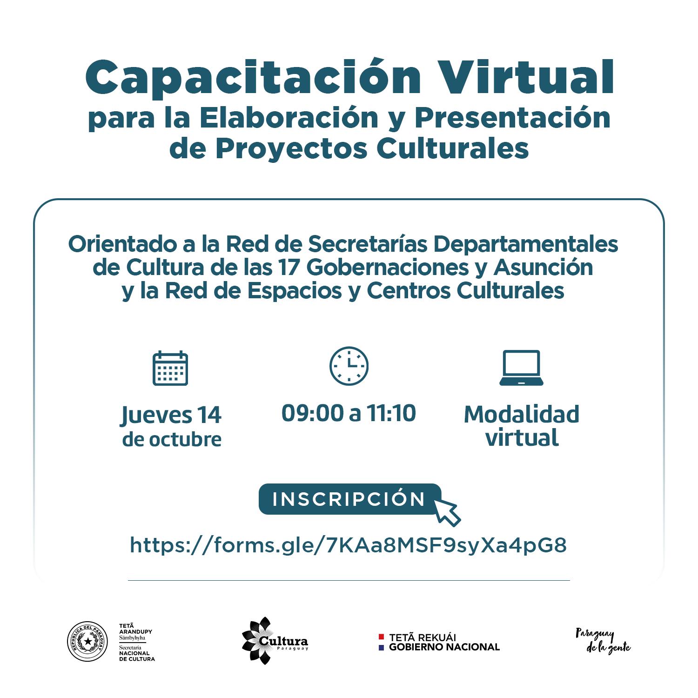 Taller reunirá a la miembros de la Red de Secretarías Departamentales de Cultura y a espacios y centros culturales para planificación cultural imagen